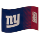New York Giants Large NFL Logo Fade Flag (bst)